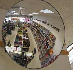 Bombadil's is a spacious, well lit store with clean displays.